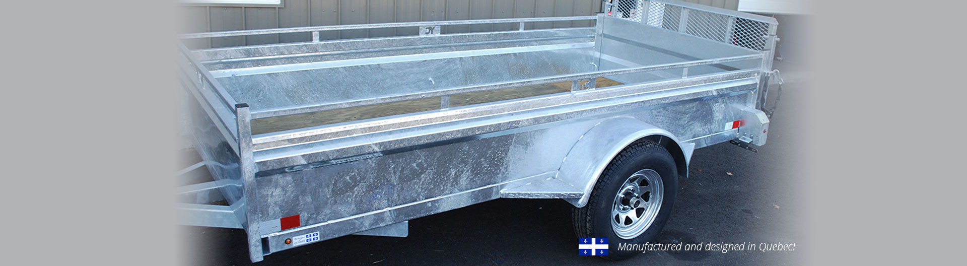 Custom trailers Laurentians trailers PAC