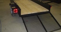 Utility trailer, 50 X 98 with 34″ Ramp