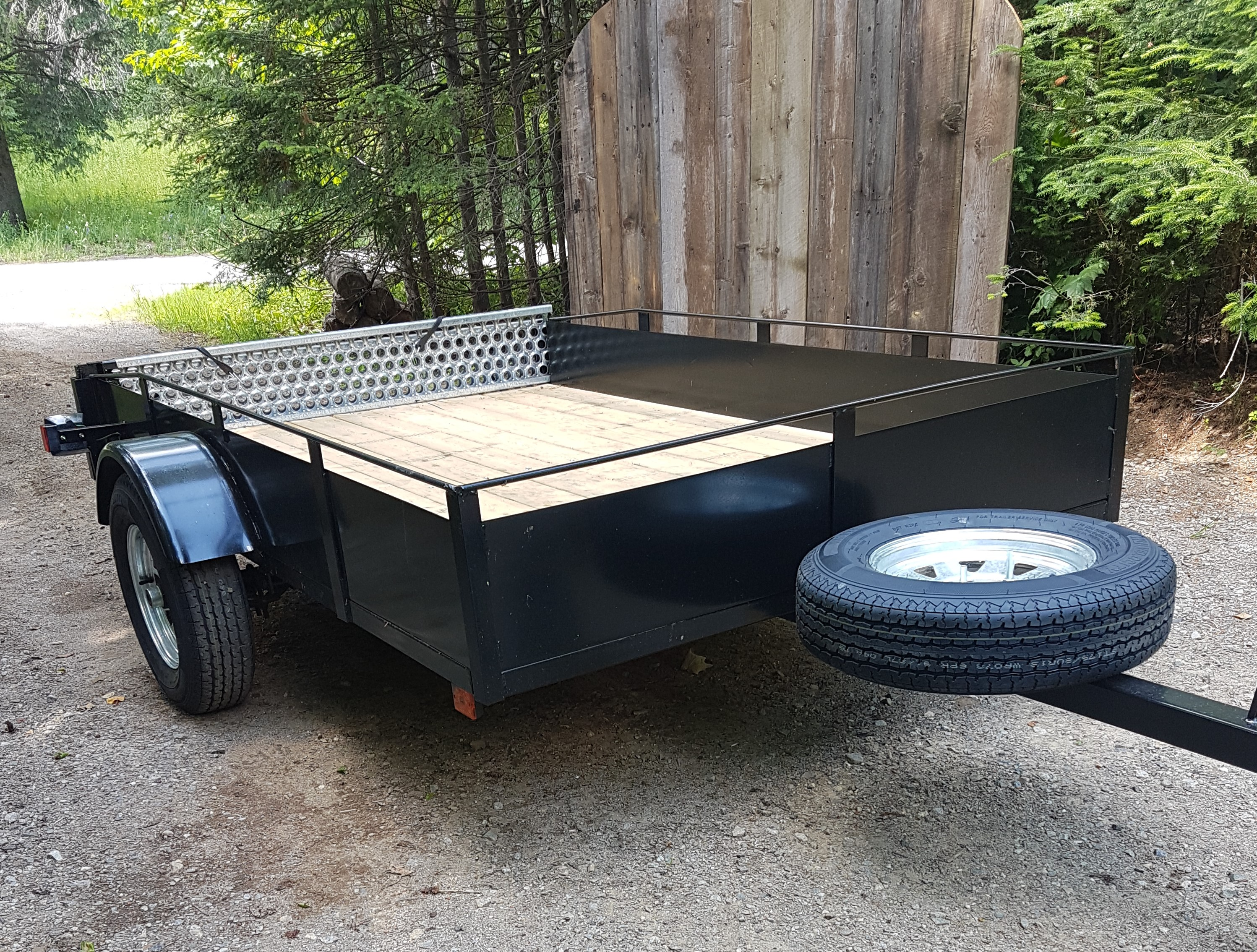 Utility Trailer 62 X 98 With Galvanized Ramps