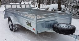 HD Utility Trailer 66 X 123 Galvanized