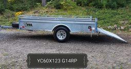 H D Utility Trailer 60 X 123 Galvanized
