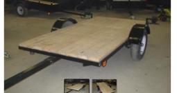 Utility trailer tilting, Tilting platform, 50 X 97 Black