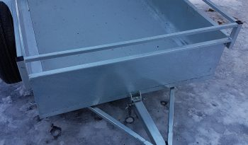 Remorque Utilitaire Basculante 54 X 98 Galvanisée plein