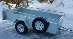 Utility trailer tilting, 54 X 98 Galvanized
